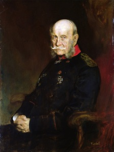 Kaiser Wilhelm I (1797-1888), 1888 (oil on canvas)